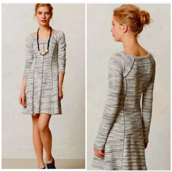 b3d31a9d285d Anthropologie Dresses & Skirts - Saturday Sunday Space Dyed Long Sleeve  Shift Dress